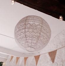 Hanging laterns, paper lanterns