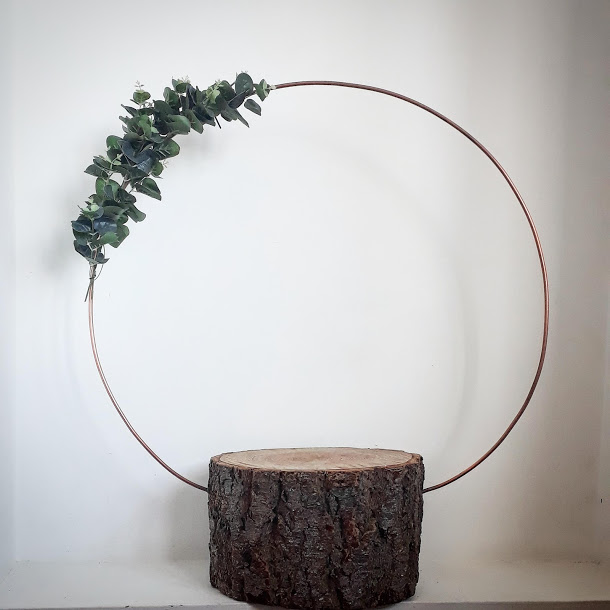 Copper cake hoop