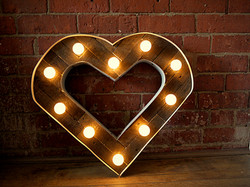 Light up heart