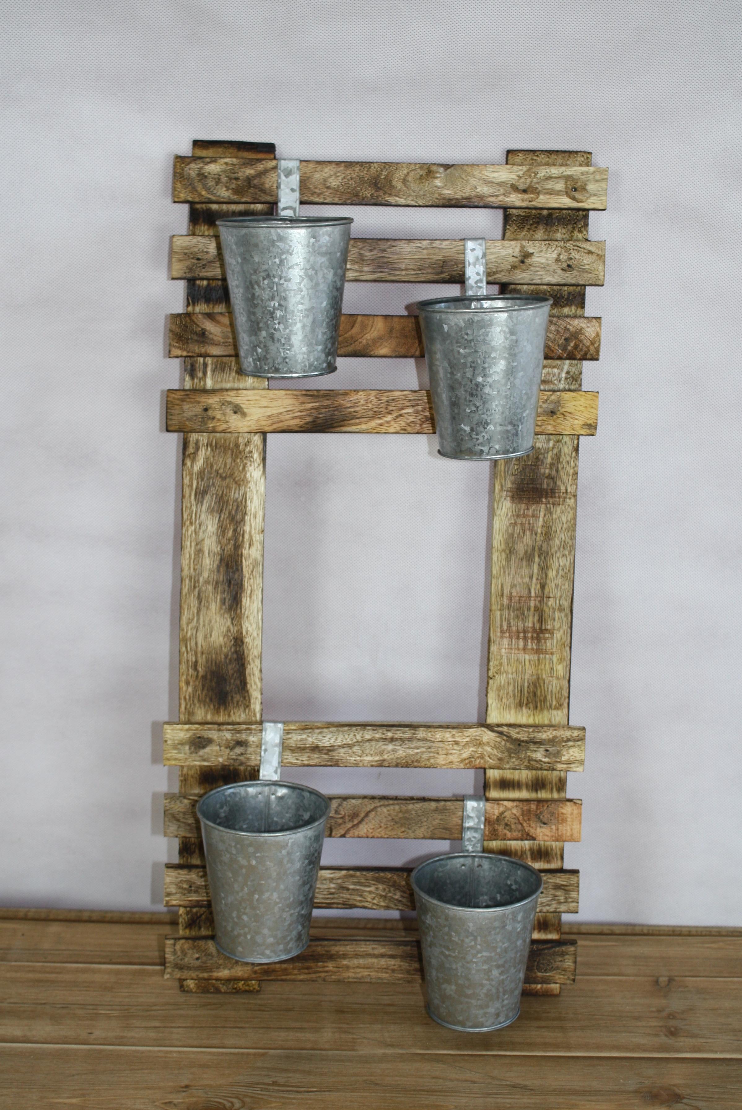 Wood table plan & buckets