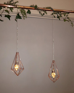COPPER GEO LIGHTS