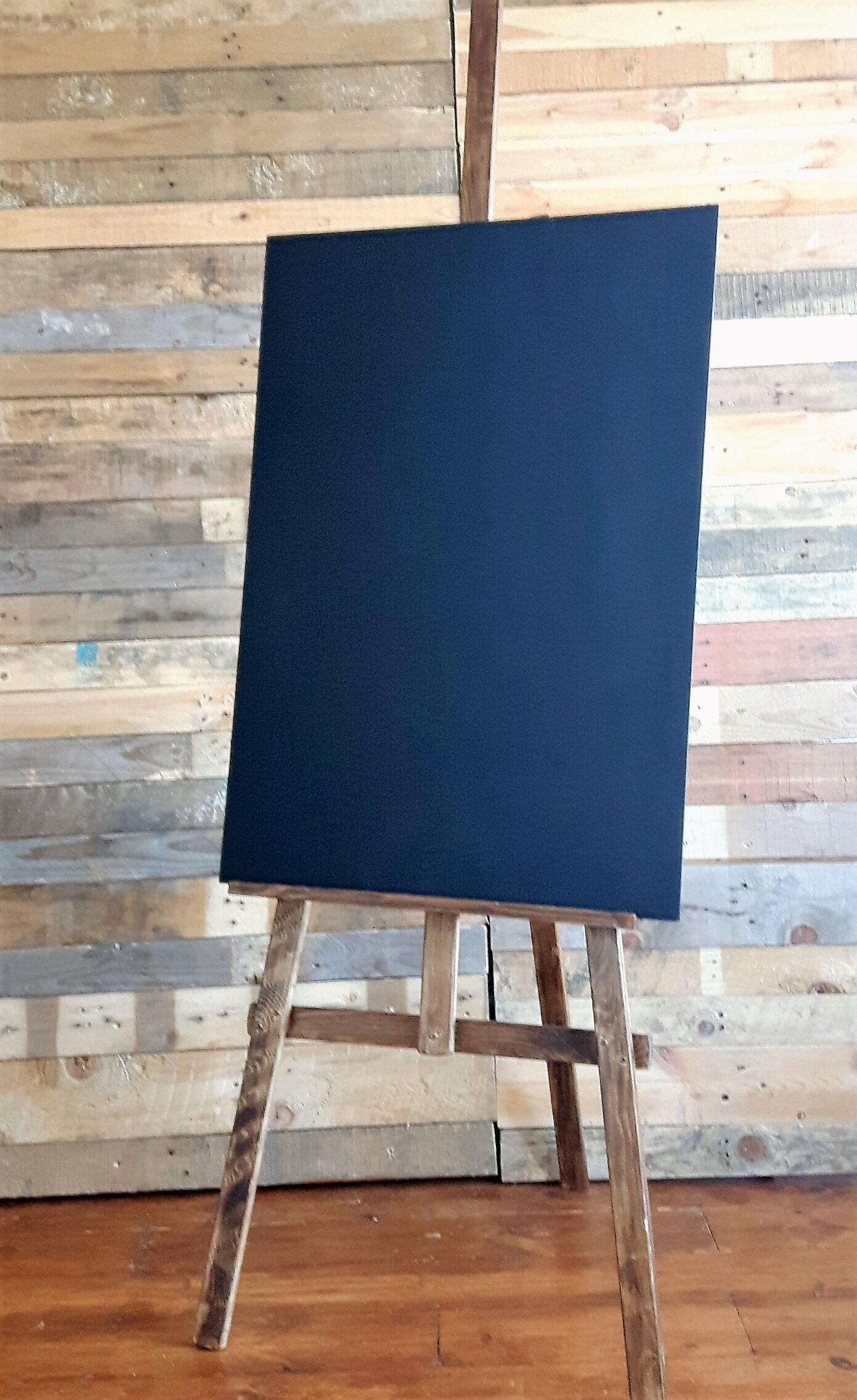 A1 blackboard and easel
