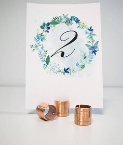 COPPER CARD HOLDERS
