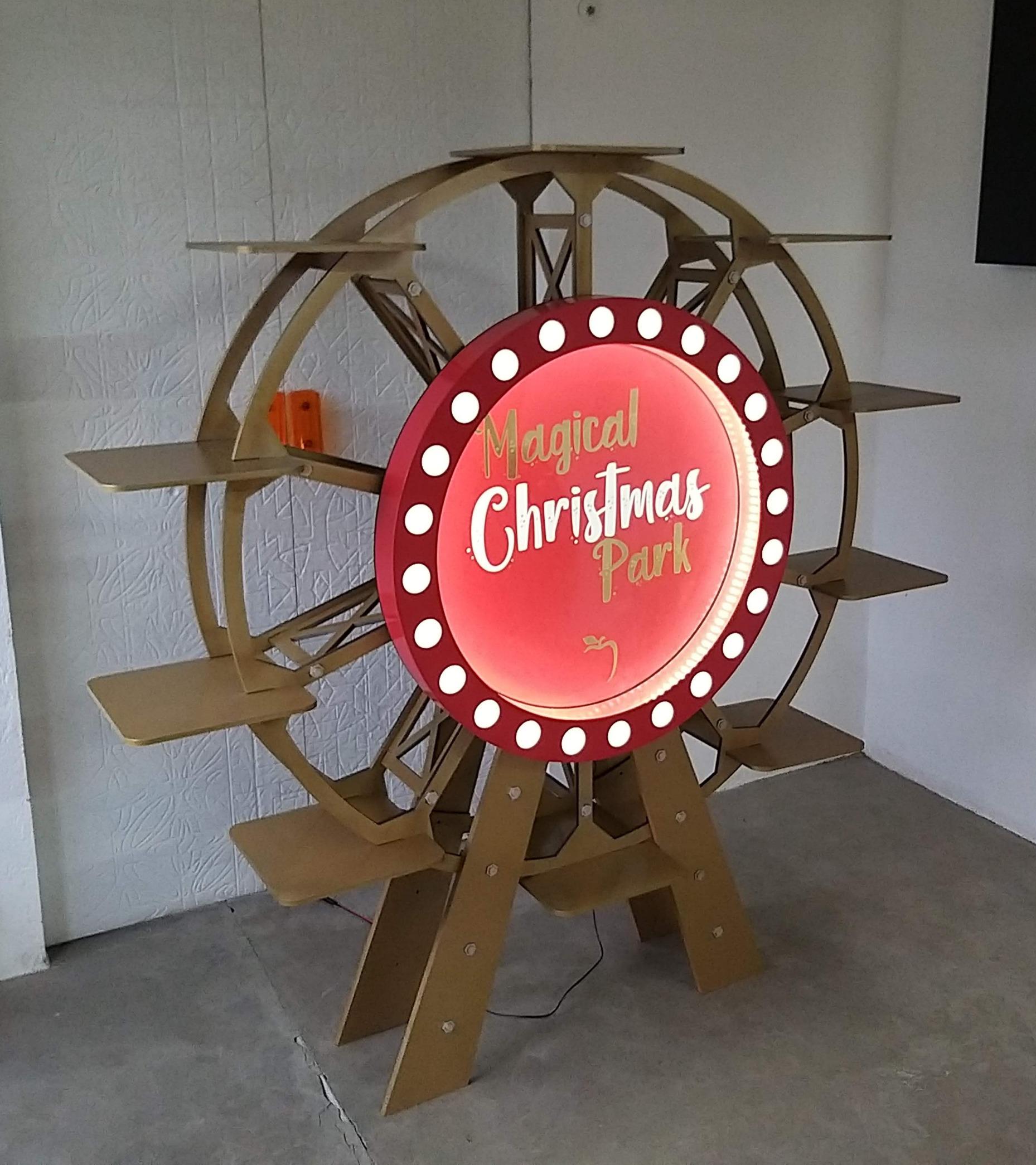 Roda Gigante para Vitrine
