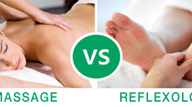 Reflexology vs. Massage