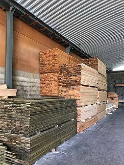 Pranchas em madeira