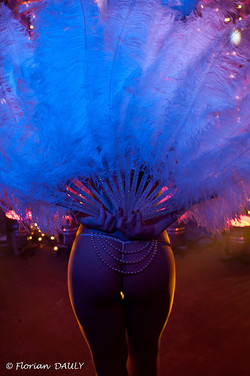 Burlesque Fan dance