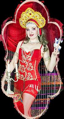 Danseuse Cabaret Russe