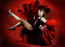 La showgirl aux plumes