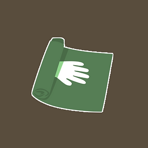 Bag and glove unrolling