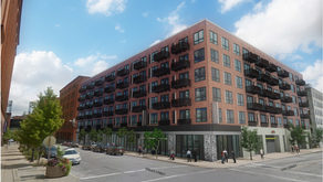 OPUS Planning Apartment Building at Former Cupples 7 Site