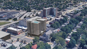 14-Story Student Housing Building Proposed on the Loop
