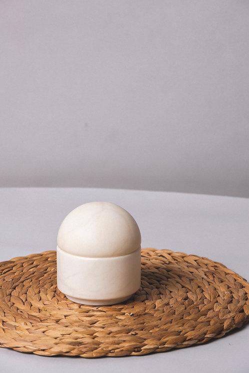 Caja de Alabastro, Joyero de piedra natural , Azucarero de alabastro