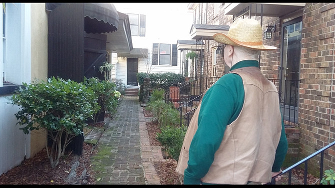 Bee Street Investor admires recent landscape improvements made by Laura Quarles