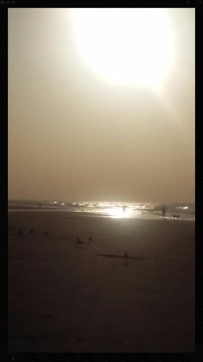 Sunrise on Folly Beach, SC