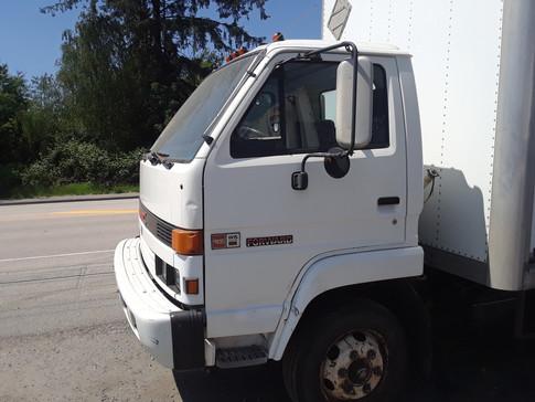 Trucks of varying sizes