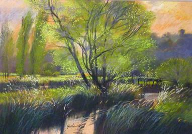 John Griffin - Evening River