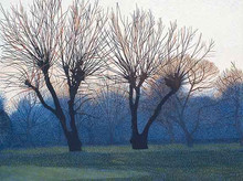 Annie Ovenden - Two Willows by Leyton Marsh