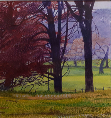 Annie Ovenden - Boconnoc Looking Across the Valley
