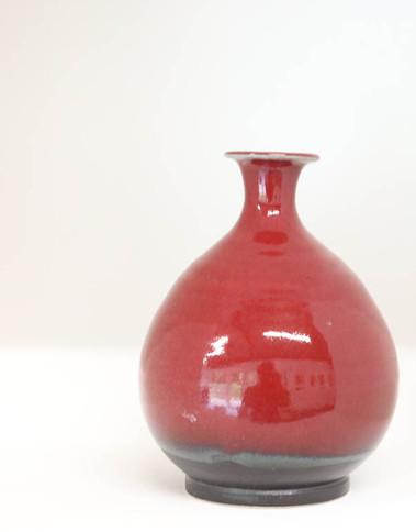 Vase. 19cms high. Base 6 cms. £140