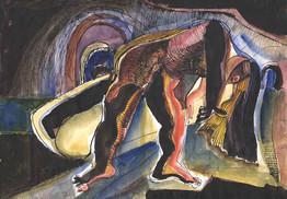 Ken Turner - Performance. Zap Club Arches (1987)