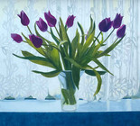 Annie Ovenden - Tulips in the Window