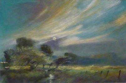 John Griffin - Moonlight, Avon Backwater