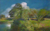 John Griffin - White Clouds, Avon Valley