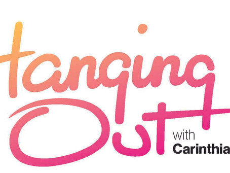 Hanging Out with Carinthia West Saturday December 7th 2019 12.30pm through lunch (provided)