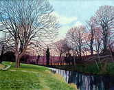 Annie Ovenden - Coulson Park In March (SOLD)