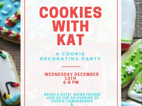 Cookies with Kat: A Cookie Decorating Party