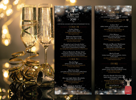 The New Year's Eve Prix Fixe Menu: A Culinary Journey