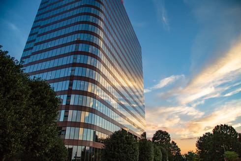 Building at sunset_Mileshko_Atlanta_Phot