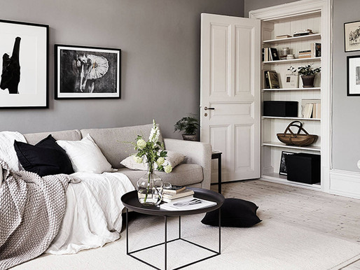 Home Tour into a Stylish neutral tones apartment in Stockholm
