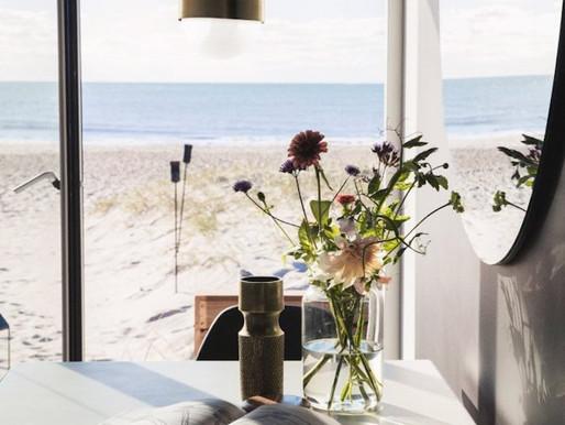 An Incredibly Stylish Tiny Danish Beach Cabin