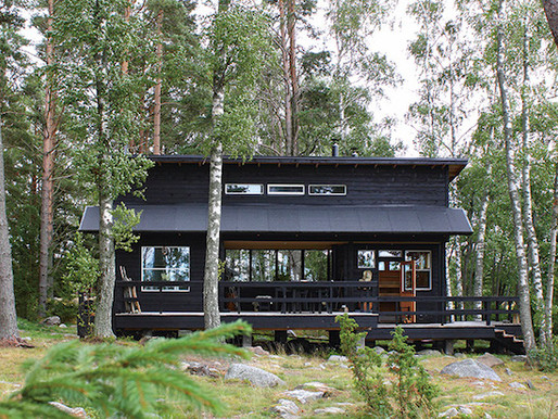 Home Tour into a beautiful Finnish summer cabin