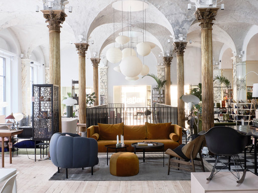 Paustian Transforms 19th-Century Bank Into Stunning Copenhagen Showroom