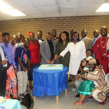 Sendoff celebration of Pastor Issac Olufoye