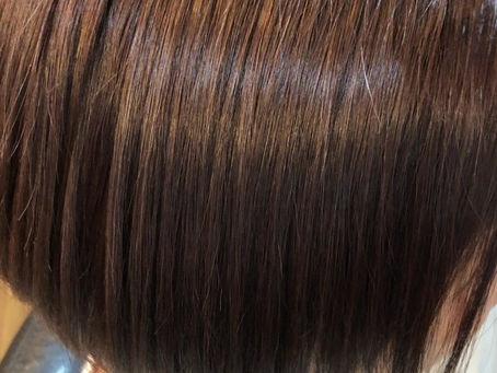 髪質改善ツヤ髪ストレート4ヶ月後・・・