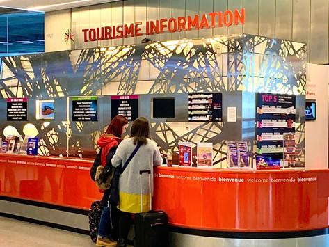 Charles de Gaulle Tourist Desk