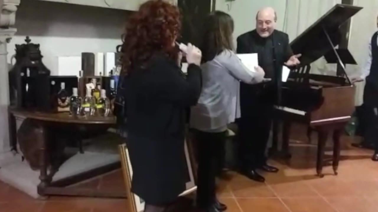 Recital del maestro Iannitti alla distilleria Nannoni