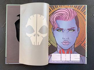 KICKSTARTER Recommendation: SHE Vol. 1 - Sci-fi Graphic Novella