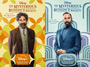 """TWINNING! """"THE MYSTERIOUS BENEDICT SOCIETY'' DEBUTS ON DISNEY+ ON FRIDAY 25 JUNE"""