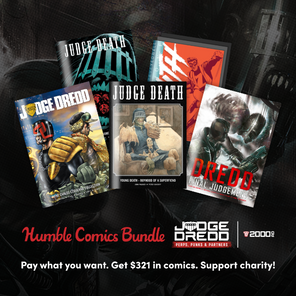 Humble Bundle & 2000 AD have joined to give you great reading and to support an amazing