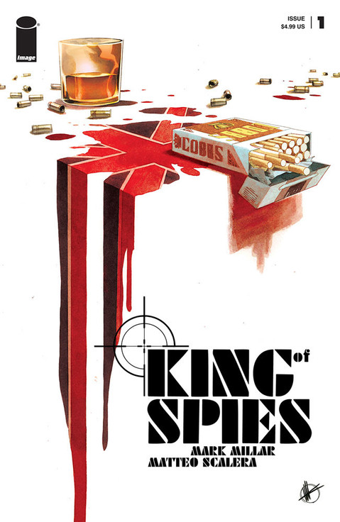 NETFLIX'S NEW SERIES KING OF SPIES ASCENDS TO POWER THIS DECEMBER FROM IMAGE COMICS