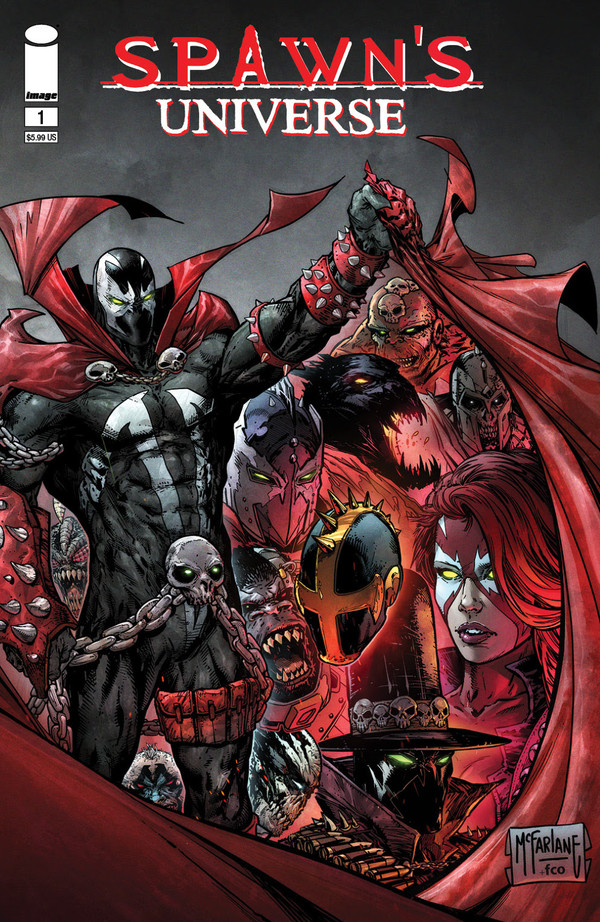 SPAWN'S UNIVERSE #1 IS IMAGE COMICS' TOP SELLING FIRST ISSUE OF THE 21ST CENTURY