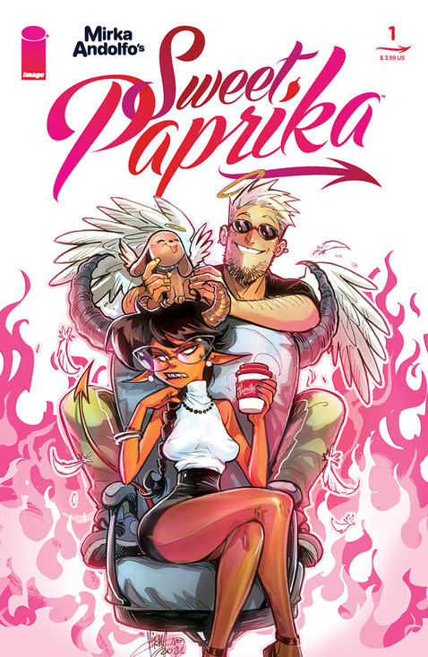 MIRKA ANDOLFO'S SWEET PAPRIKA PREVIEW PAGES PROMISE SULTRY NEW ROM-COM DELIGHTS