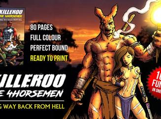 Kickstarter Spotlight: Killeroo / The 4Horsemen crossover