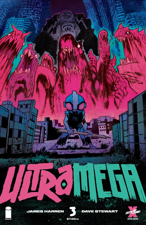 IMAGE/SKYBOUND UNVEILS ULTRAMEGA #3 SNEAK PEEK