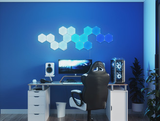 Design Without Limitation With the Nanoleaf Shapes - Hexagons